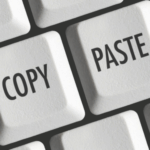 Как копировать и вставлять несколько текстов